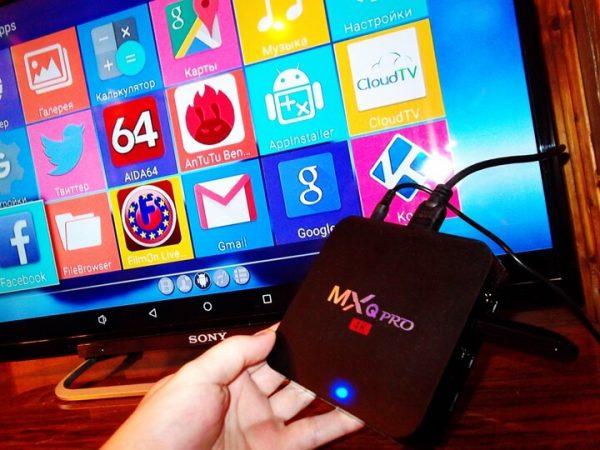 ТВ-приставка MXQ Pro1